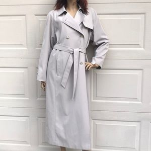 TALBOTS TRENCH COAT SIZE 8 BEIGE NEW